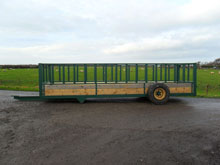 Feed Trailor Side View